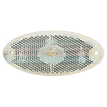 Jokon PLR2012 11.1024.000 Caravan Motorhome LED White Front Marker Light Lamp